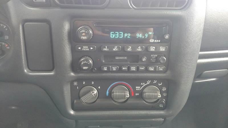 2002 GMC Sonoma 4dr Crew Cab SLS 4WD SB - Farwell MI