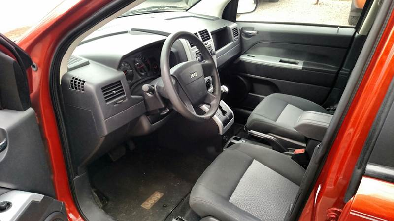 2008 Jeep Compass 4x4 Sport 4dr SUV w/CJ1 - Farwell MI
