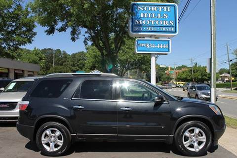 2009 GMC Acadia for sale at North Hills Motors in Raleigh NC