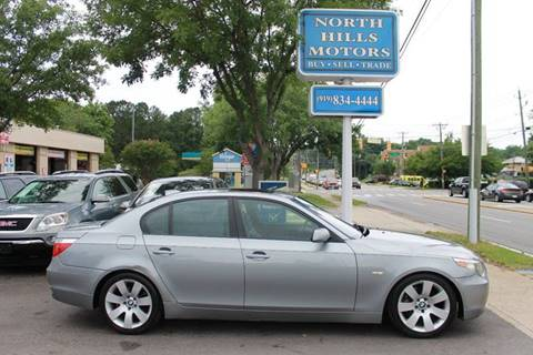 2007 BMW 5 Series for sale at North Hills Motors in Raleigh NC
