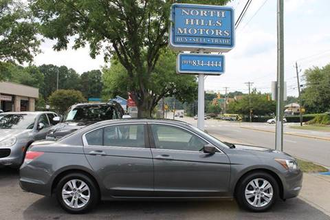 2008 Honda Accord for sale at North Hills Motors in Raleigh NC