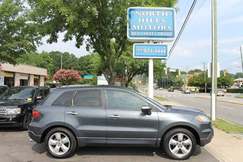2007 Acura RDX for sale at North Hills Motors in Raleigh NC