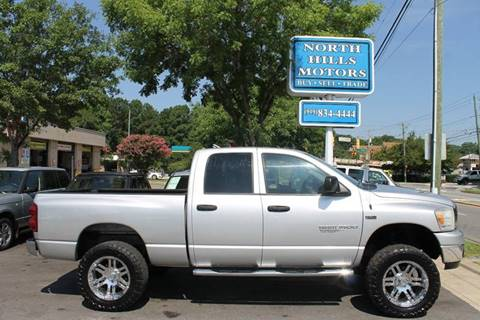 2007 Dodge Ram Pickup 1500 for sale at North Hills Motors in Raleigh NC