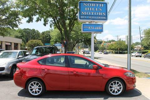 2013 Dodge Dart for sale at North Hills Motors in Raleigh NC