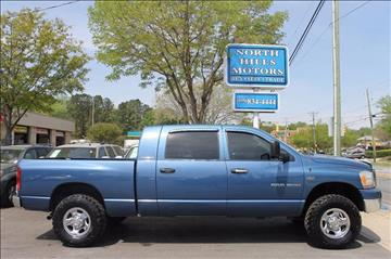 2006 Dodge Ram Pickup 1500 for sale at North Hills Motors in Raleigh NC