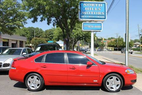 2007 Chevrolet Impala for sale at North Hills Motors in Raleigh NC