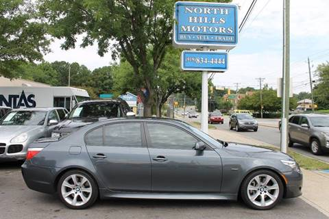 2009 BMW 5 Series for sale at North Hills Motors in Raleigh NC