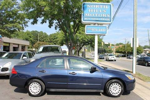 2007 Honda Accord for sale at North Hills Motors in Raleigh NC