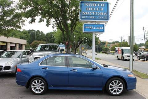 2008 Acura TSX for sale at North Hills Motors in Raleigh NC