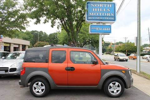 2003 Honda Element for sale at North Hills Motors in Raleigh NC