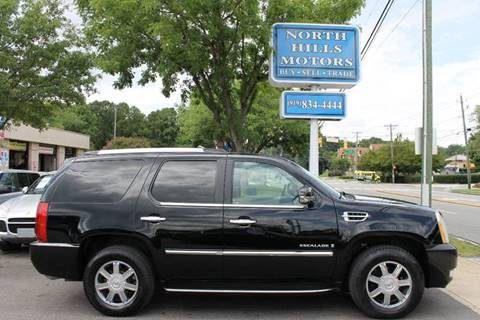 2007 Cadillac Escalade for sale at North Hills Motors in Raleigh NC