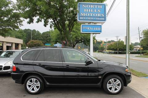2006 BMW X5 for sale at North Hills Motors in Raleigh NC