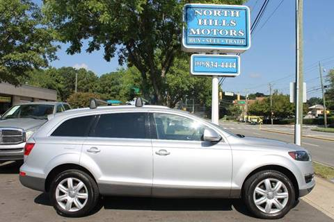2008 Audi Q7 for sale at North Hills Motors in Raleigh NC
