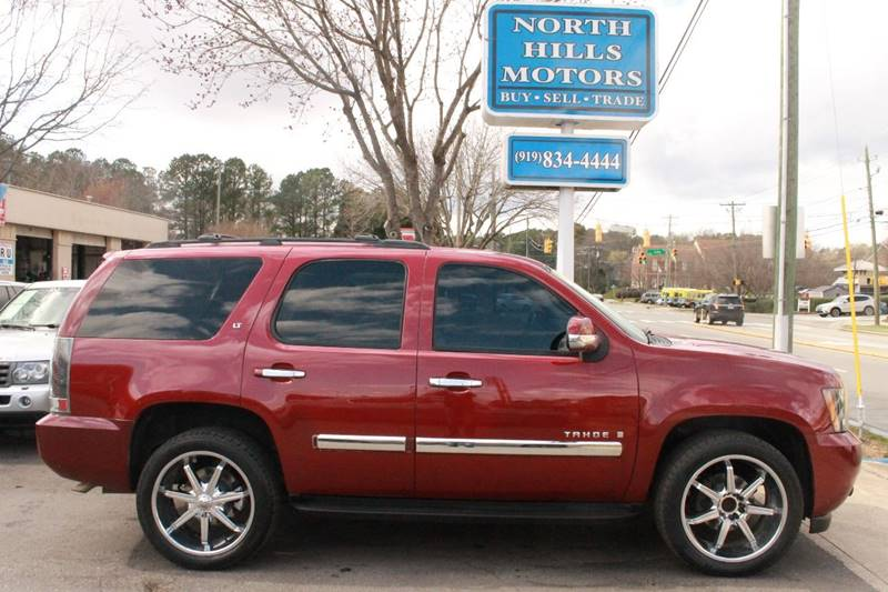 2007 Chevrolet Tahoe LT 2WD Used Cars In Raleigh NC 27604