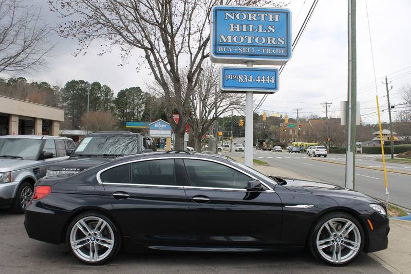 2013 Bmw 6 Series 640i Gran Coupe 4dr Sedan In Raleigh NC - North ...