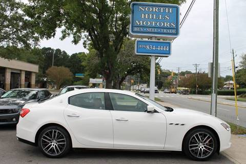 2015 Maserati Ghibli for sale in Raleigh, NC
