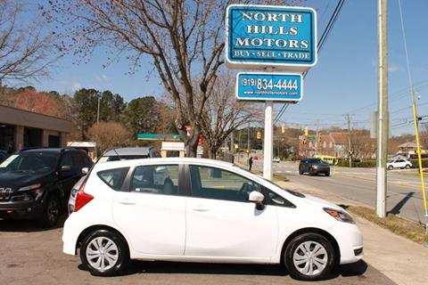 2018 Nissan Versa Note for sale in Raleigh, NC