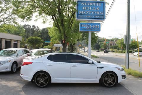2012 Kia Optima For Sale >> Kia Optima For Sale In Raleigh Nc North Hills Motors