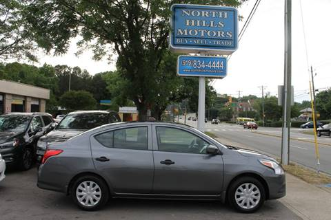2017 Nissan Versa for sale in Raleigh, NC