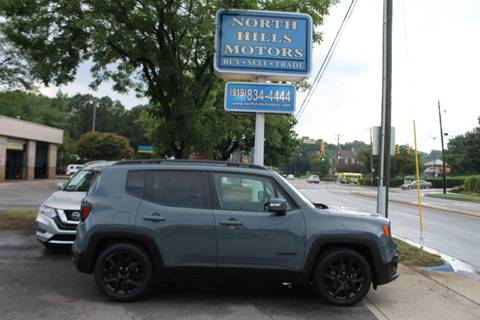 2017 Jeep Renegade for sale in Raleigh, NC