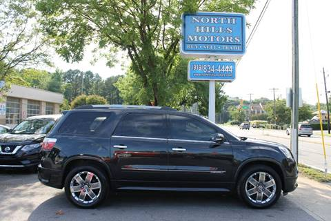 2011 GMC Acadia for sale in Raleigh, NC
