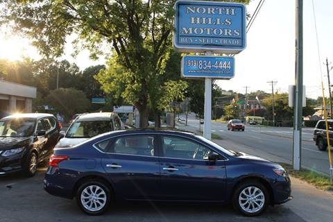 2018 Nissan Sentra for sale in Raleigh, NC