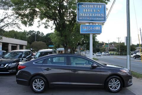 2015 Hyundai Sonata for sale in Raleigh, NC