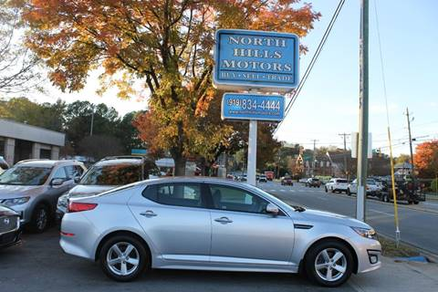 2015 Kia Optima for sale in Raleigh, NC