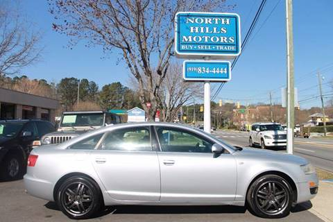 2005 Audi A6 for sale at North Hills Motors in Raleigh NC