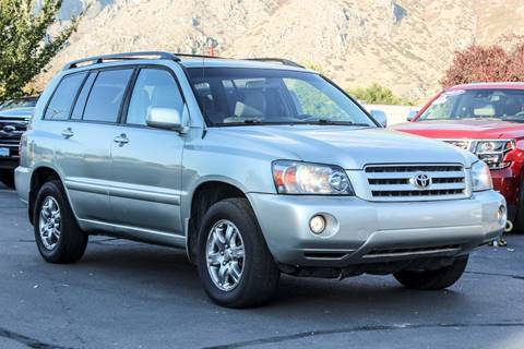 2005 Toyota Highlander for sale in Springville, UT