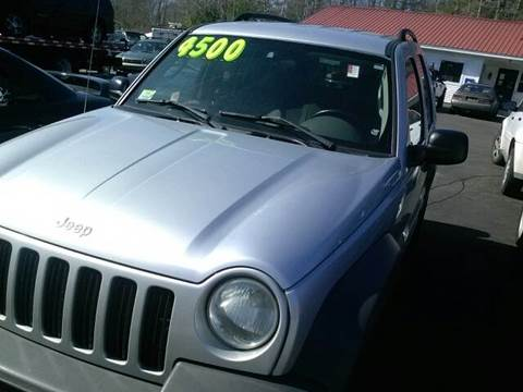 2003 Jeep Liberty for sale at Low Budget Auto Sales in Rochester NH