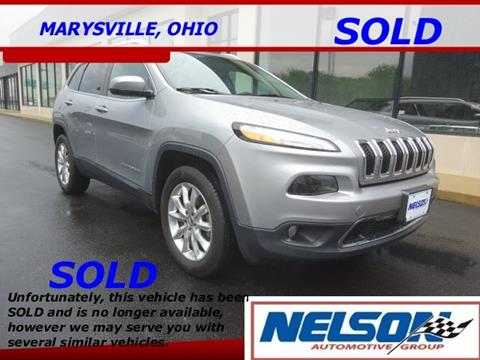 2015 Jeep Cherokee for sale in Marysville, OH
