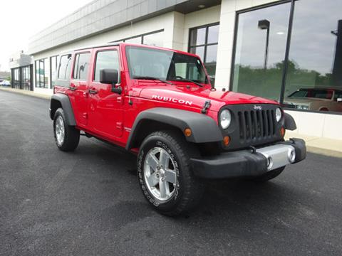 2009 Jeep Wrangler Unlimited for sale in Marysville, OH