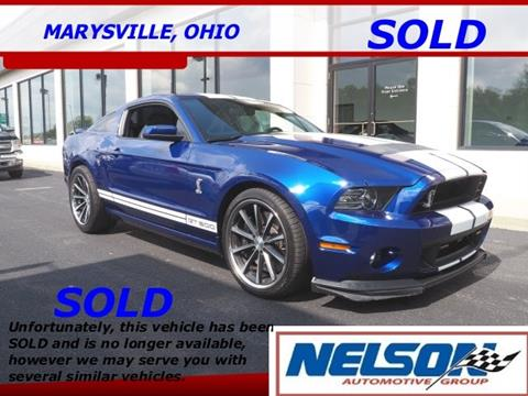 2014 Ford Shelby GT500 for sale in Marysville, OH