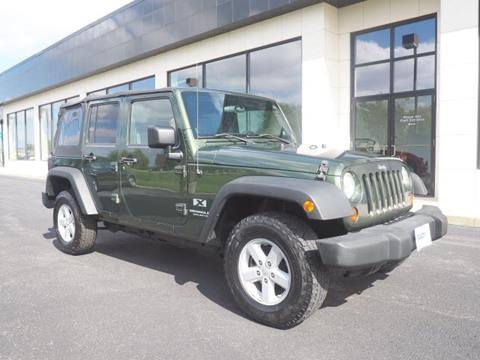 2008 Jeep Wrangler Unlimited for sale in Marysville, OH