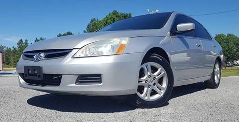 2006 Honda Accord for sale at Real Deals of Florence, LLC in Effingham SC