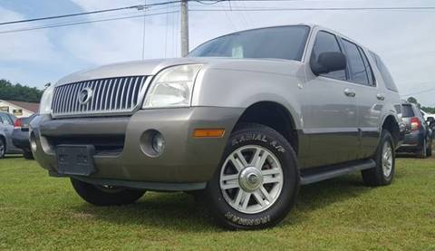 2004 Mercury Mountaineer for sale at Real Deals of Florence, LLC in Effingham SC