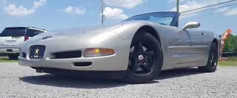 2000 Chevrolet Corvette for sale at Real Deals of Florence, LLC in Effingham SC