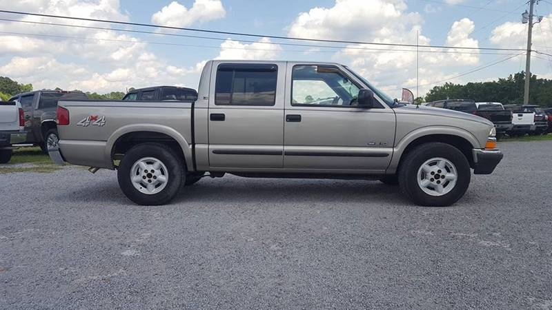 2002 Chevrolet S-10 for sale at Real Deals of Florence, LLC in Effingham SC