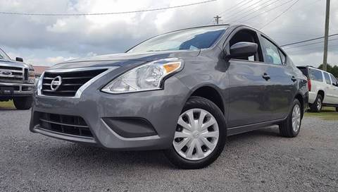 2016 Nissan Versa for sale at Real Deals of Florence, LLC in Effingham SC