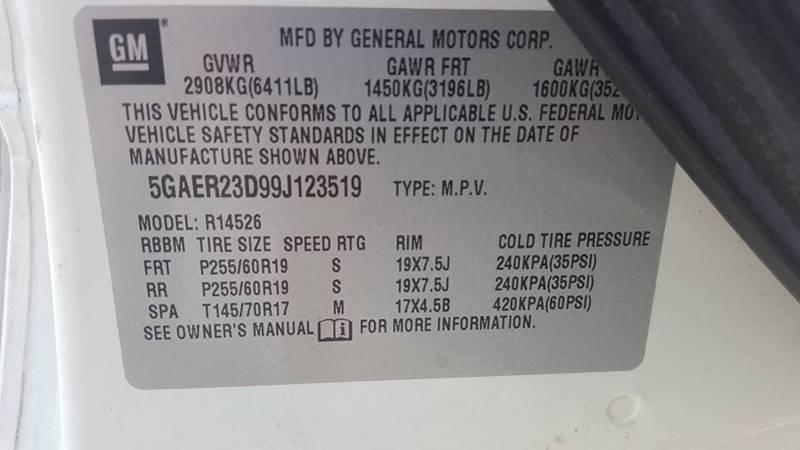 2009 Buick Enclave for sale at Real Deals of Florence, LLC in Effingham SC