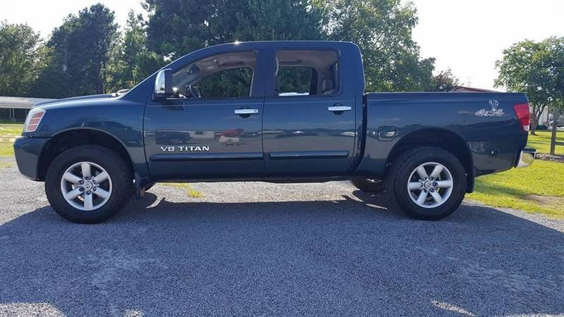 2005 Nissan Titan for sale at Real Deals of Florence, LLC in Effingham SC