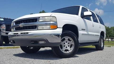 2001 Chevrolet Tahoe for sale at Real Deals of Florence, LLC in Effingham SC