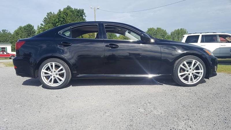 2006 Lexus IS 250 for sale at Real Deals of Florence, LLC in Effingham SC