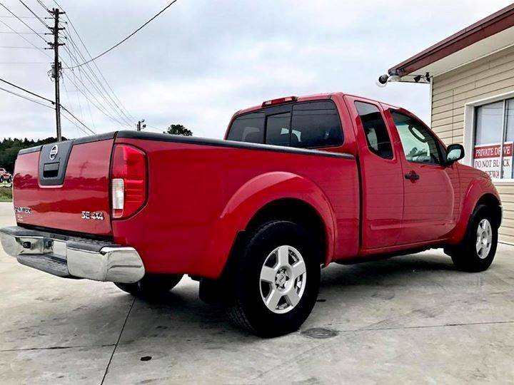 2007 Nissan Frontier for sale at Real Deals of Florence, LLC in Effingham SC