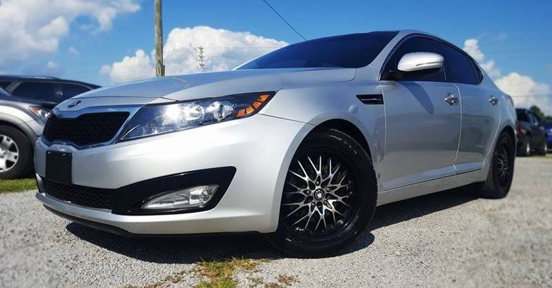 2013 Kia Optima for sale at Real Deals of Florence, LLC in Effingham SC