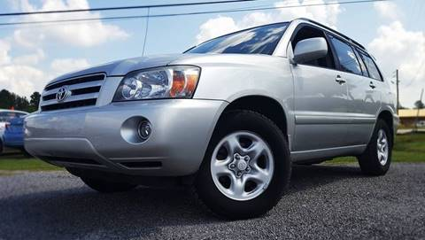 2007 Toyota Highlander for sale at Real Deals of Florence, LLC in Effingham SC