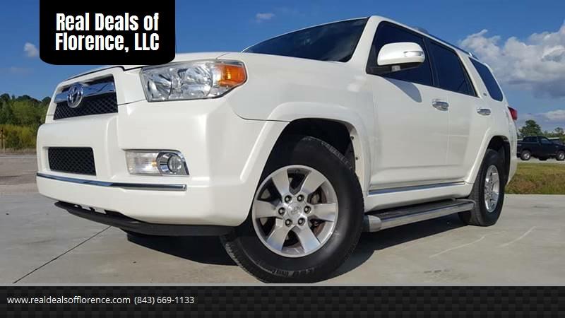 2011 Toyota 4Runner For Sale At Real Deals Of Florence, LLC In Effingham SC