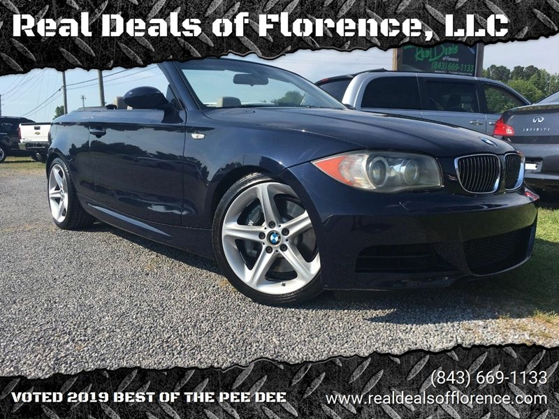 2008 BMW 1 Series for sale at Real Deals of Florence, LLC in Effingham SC