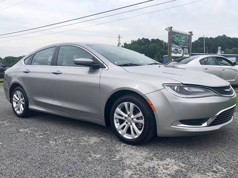 2015 Chrysler 200 for sale in Effingham, SC